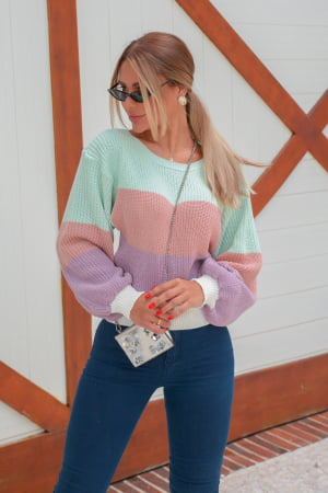 Blusa Candy Colors