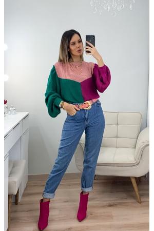 Blusa Three Colors Lg008